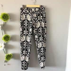 🟡2/$30 | H&M | Ankle pants with side zipper